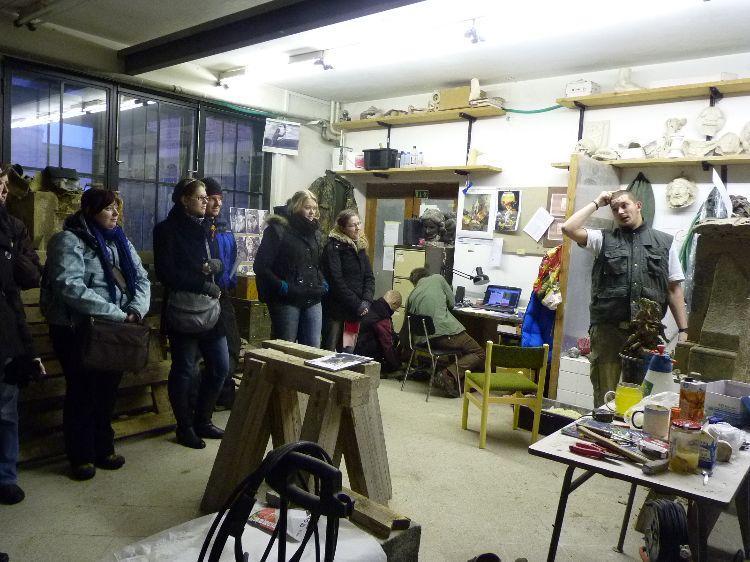 Aktivita Management regionálního dědictví - exkurze studentů FF na Fakultu restaurování - ZS 2010/2011